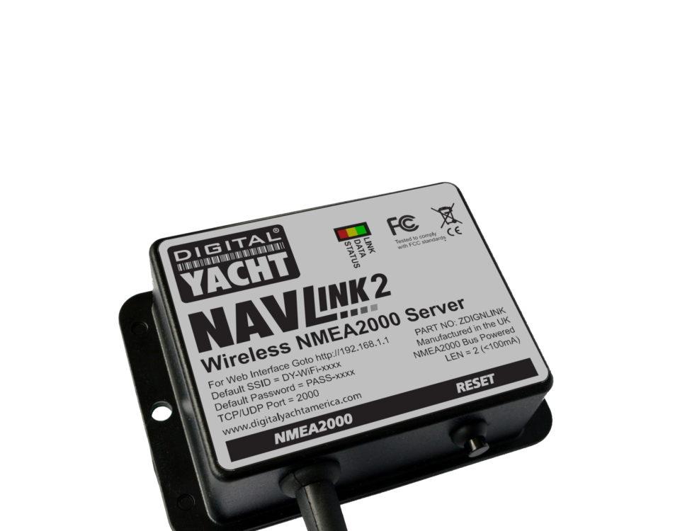 NavLink 2 ist ein einfach zu montierender NMEA2000 auf WiFi Konverter