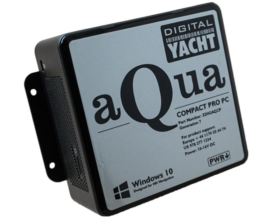 Ein superkompakter, ultrazuverlässiger Marine-PCs mit leistungsstarkem Intel-Prozessor der 10. Generation, 480GB SSD-Festplatte und 12 Volt-Spannungsversorgung – ideal für anspruchsvolle 3D-Navigationsprogramme.