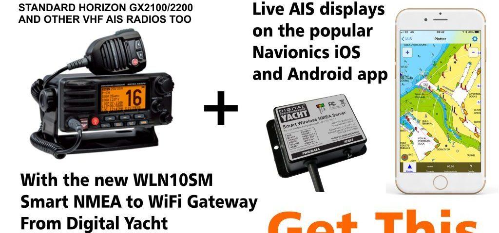 Rüsten Sie Ihr Standard Horizon VHF-AIS-Funkgerät auf Wireless auf