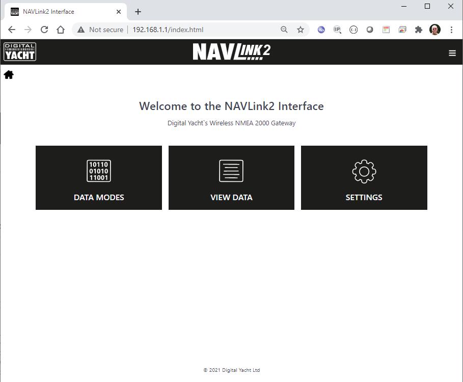 NavLink2 Interface Konfiguration