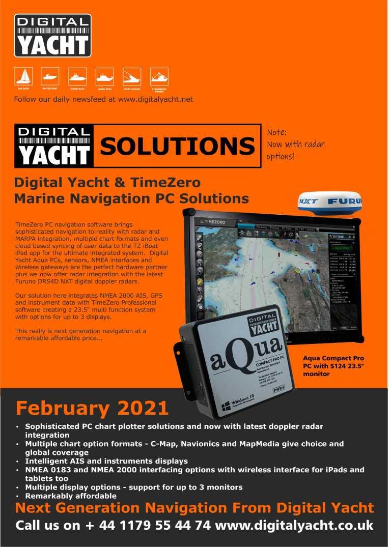 Katalog und Preisliste der Digital Yacht Lösungen
