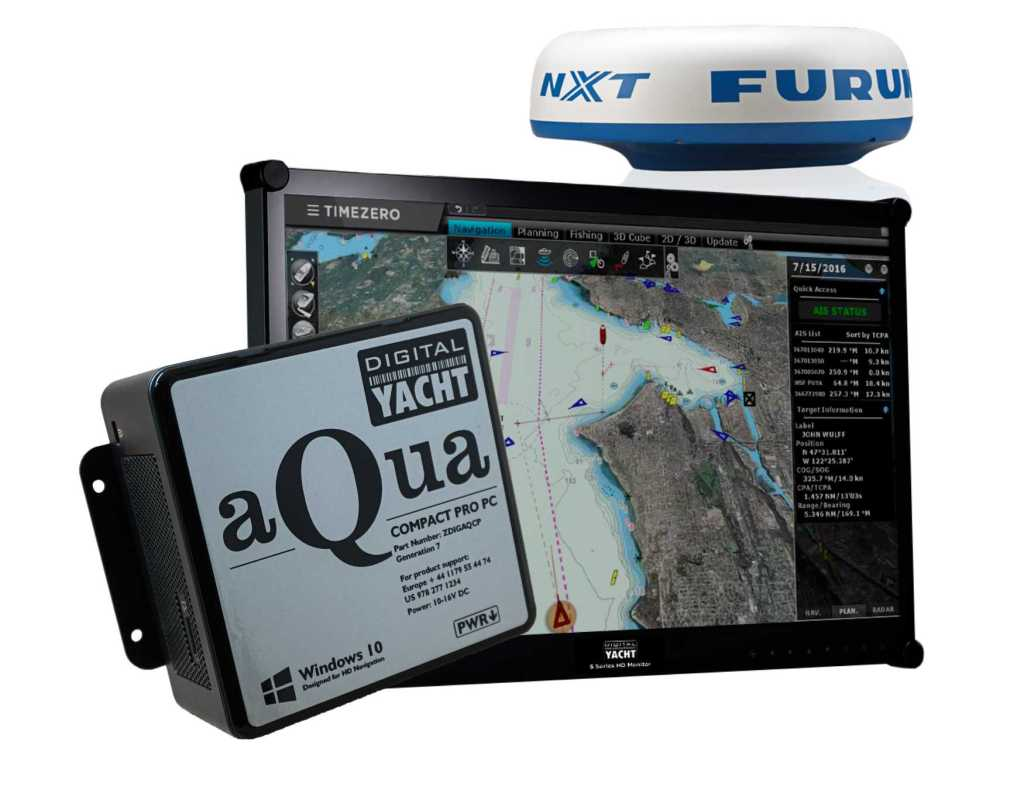 Anzeige Paket Furuno Digital Yacht Timezero