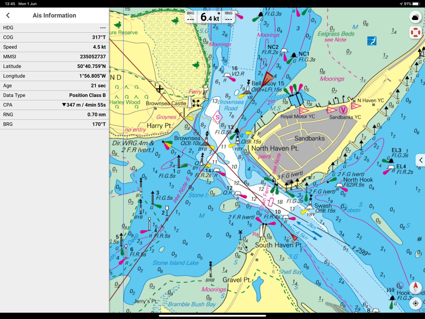 NV Charts Digital Yacht AIS