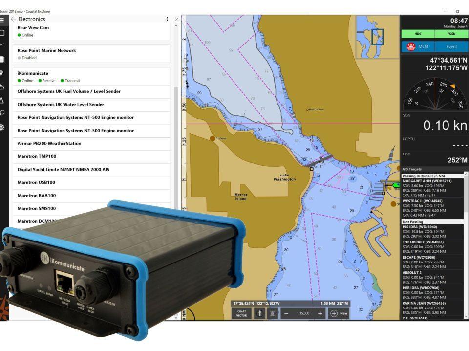 iKommunicate Coastal Explorer
